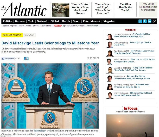 Новостной портал The Atlantic