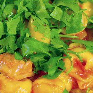 Chicken Arrabbiata with Three Cheese Tortellini Recipe