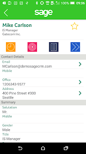 Sage CRM for Android- screenshot thumbnail