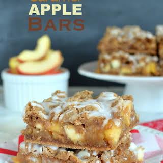 Caramel Apple Bars.