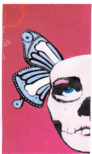 Photo: Wenchkin's Mail Art 366 - Day 129, card 129b