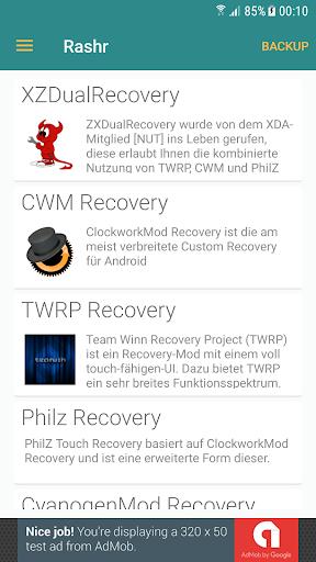 [ROOT] Rashr - Flash Tool 2.4.3 screenshots 1