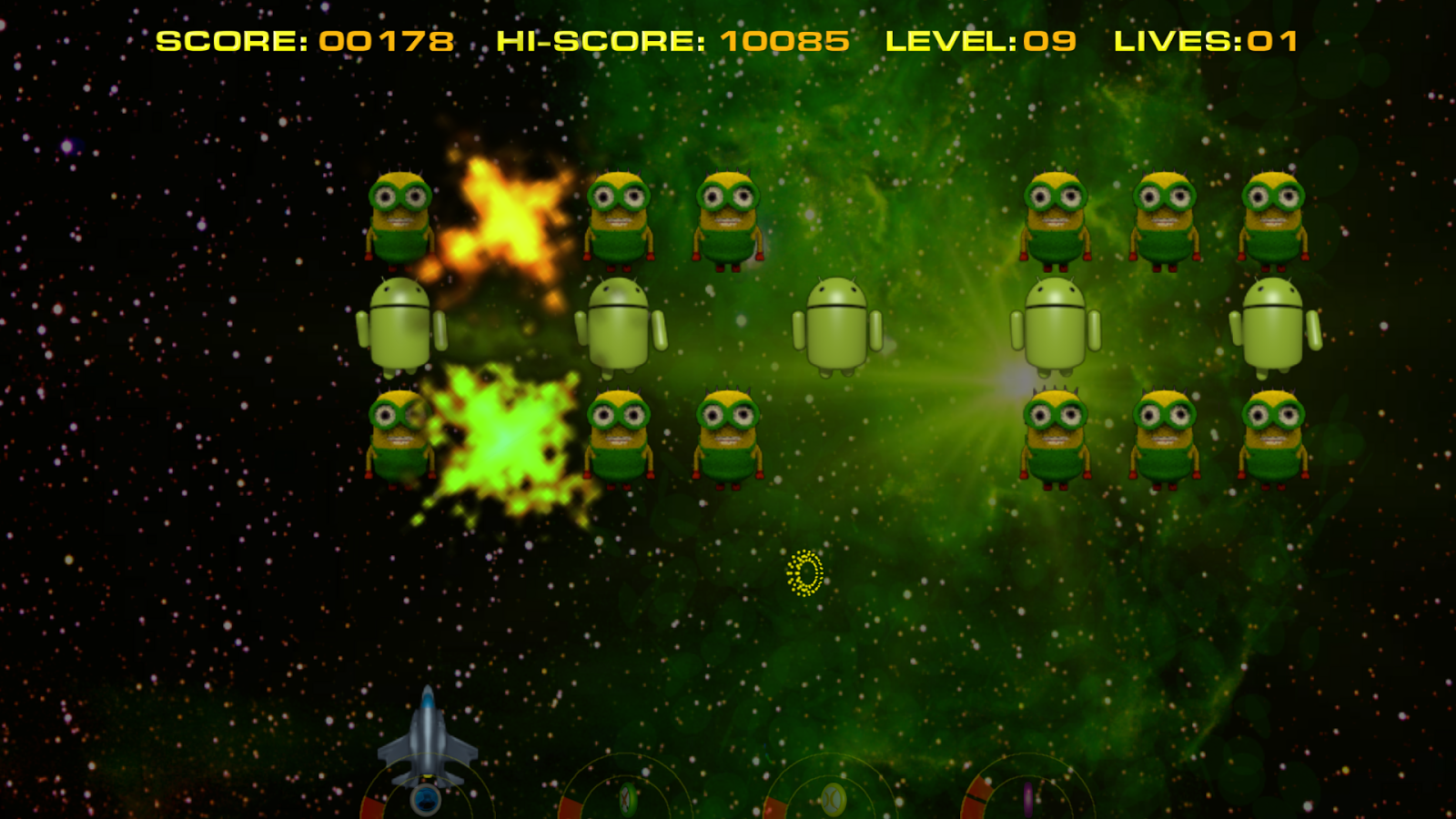 Kids Invaders- screenshot