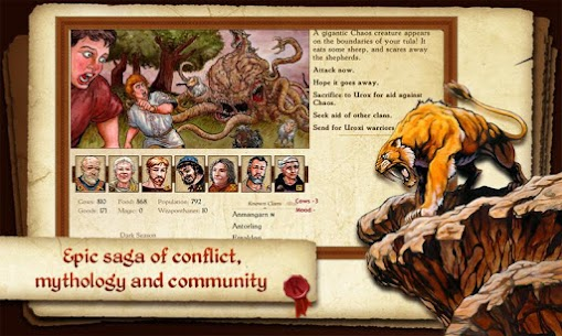 King of Dragon Pass Apk: Text Adventure RPG 2