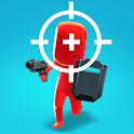 Gun Run 3D: Crazy Hero FPS Action icon