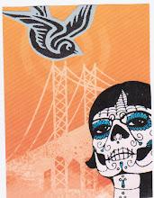Photo: Wenchkin's Mail Art 366 - Day 123, card 123a