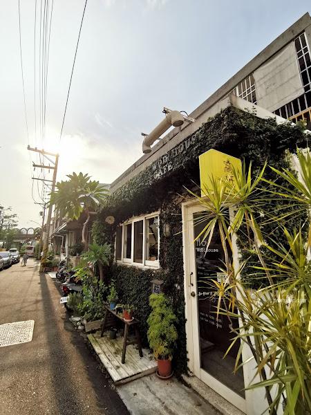 窩柢咖啡公寓 | 台中西屯區。教師新村老宅咖啡,品味愛心司康、享受慢活時光!