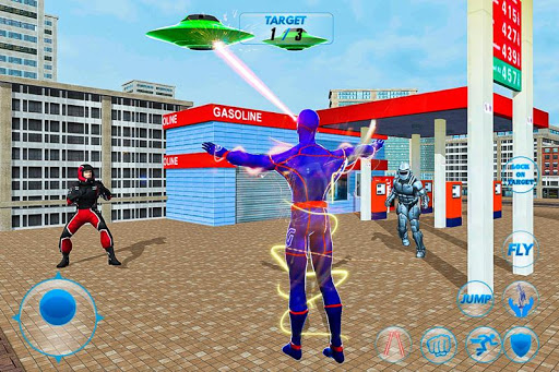 Grand Light Speed Robot Hero City Rescue Mission 1.1 screenshots 3