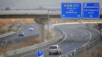 Imagen de archivo de la autopista Vera-Cartagena (AP7).