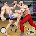 GYM Fighting Games: Bodybuilder Trainer Fight PRO icon