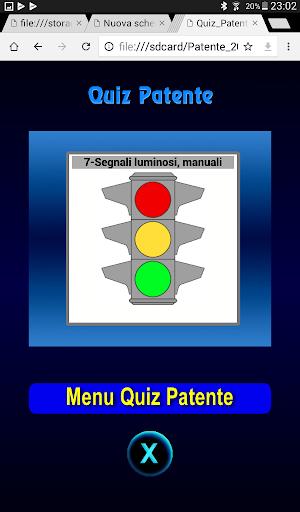 Quiz Patente Argomento 1.3 screenshots 7