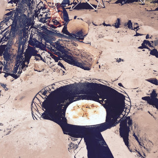 Campfire Baked Brie