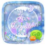 (FREE) GO SMS ICE CRYSTAL THEME Icon