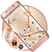 Rose Gold Mettle Finish Theme
