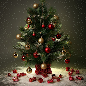 christmas live wallpaper tree
