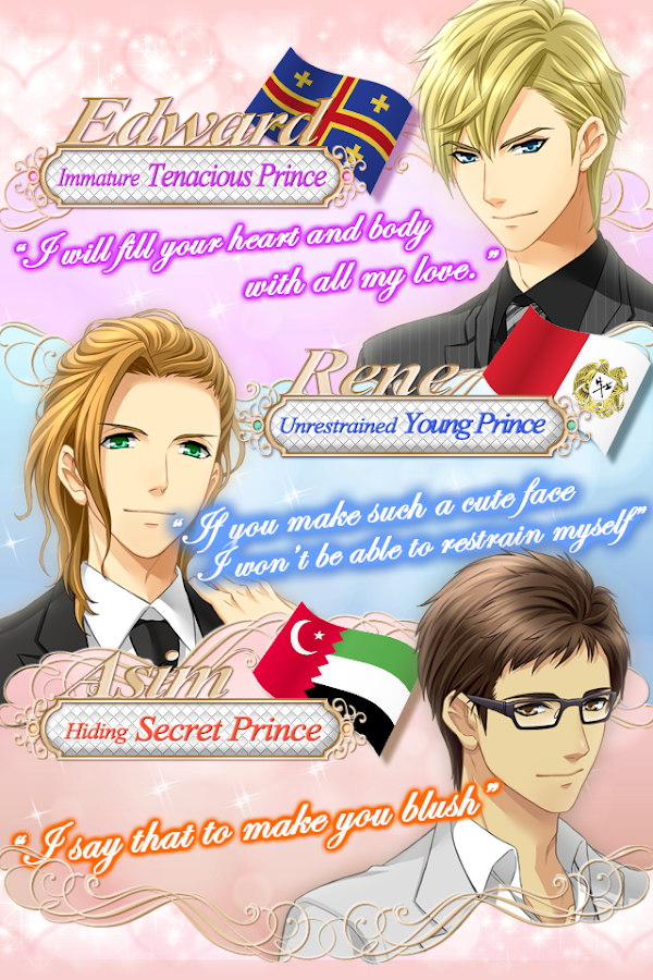 Royal Midnight Kiss   date game  screenshot Google Play