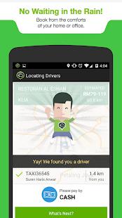 MyTeksi: Book a ride - screenshot thumbnail