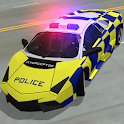 City Police Car Driving Chase icon
