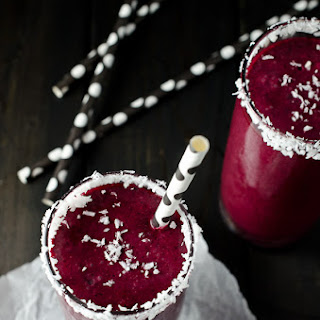 Pretty Raw Beet and Coconut Smoothie.
