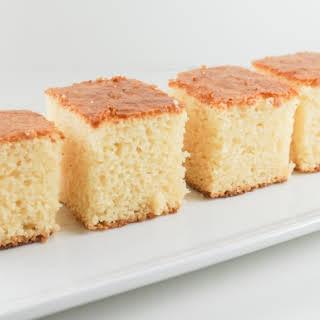 Butter Mochi Cake.