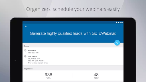 GoToWebinar 3.5.0 screenshots 8