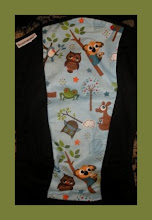 "Photo: Hooty Blue ""Simon"" customized Scootababy on black straps"