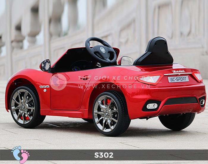 Ô tô cho trẻ em cao cấp Maserati S-302 21