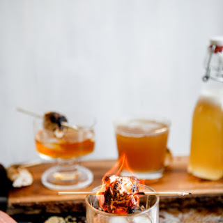 Rye Whiskey And Marshmallow Simple Syrup
