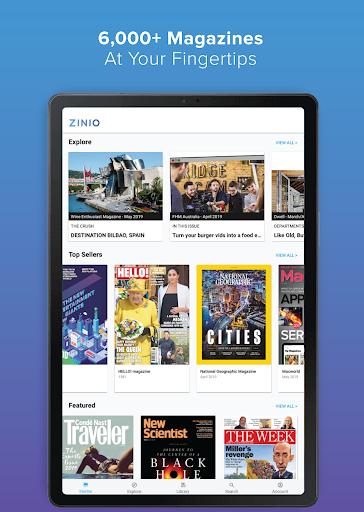 Zinio Magazine Reader screenshot 5