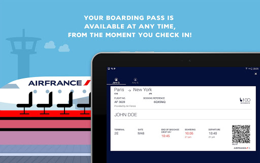 Air France - Airline tickets screenshot 15