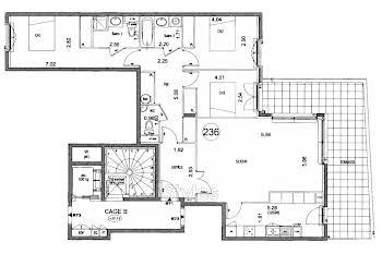 Appartement 4 pièces 101,7 m2