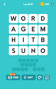 WORD TOWER - Brain Training Screenshot