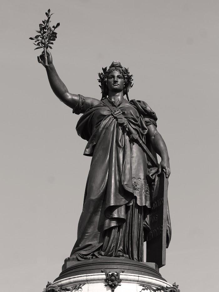 Léopold Morice, Beeld van Marianne op Place de la République, 1883)
