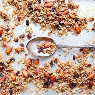 Almond and Coconut Granola.