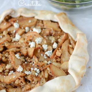 Apple Gorgonzola Crostata