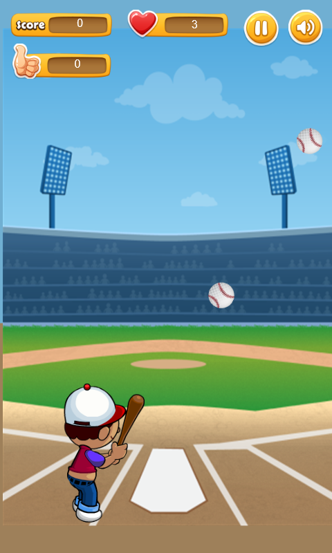 Hit The Ball - comming ball- screenshot