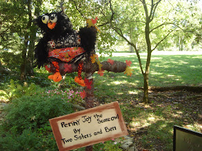 Photo: Penny Joy the Scarecrow Owl by Two Sisters and Ben