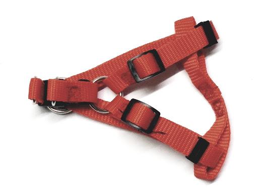 accesorio para mascotas resun pechera nylon ajustable 10mm x 20/40cm