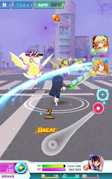 Battle Girl High School apk screenshot