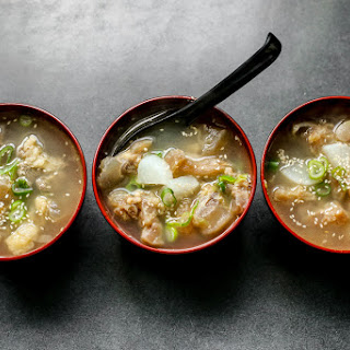 Beef Tendon Gumtang Collagen Soup Recipe