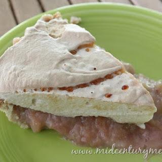Grandma's Rhubarb Meringue Pie