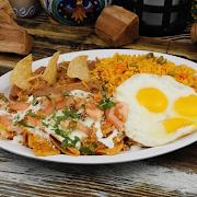 Chilaquiles & Eggs Breakfast