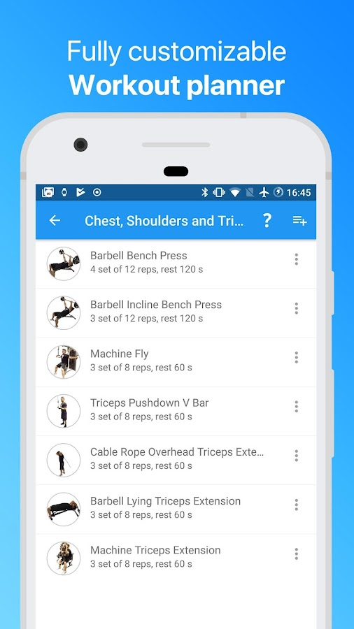 JEFIT: #1 Workout Tracker, Gym Log & Fitness App