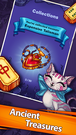 玩免費解謎APP|下載Mahjong Treasure Quest app不用錢|硬是要APP