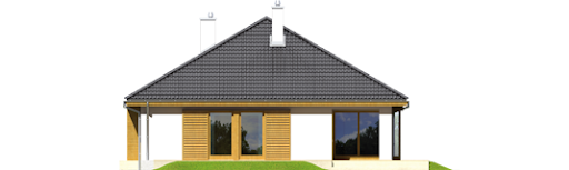Glen II G1 Leca® Dom - Elewacja tylna