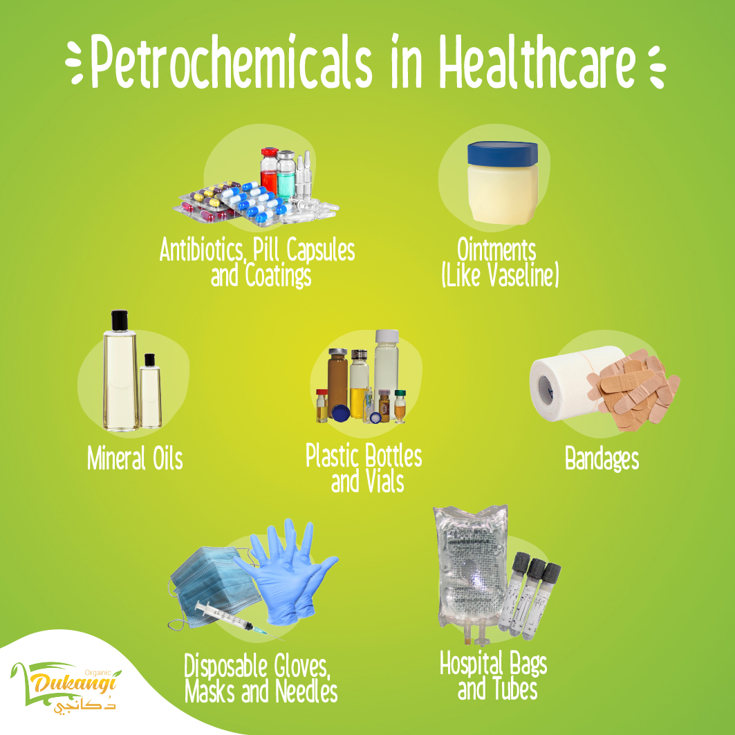 Petrochemicals in Healthcare