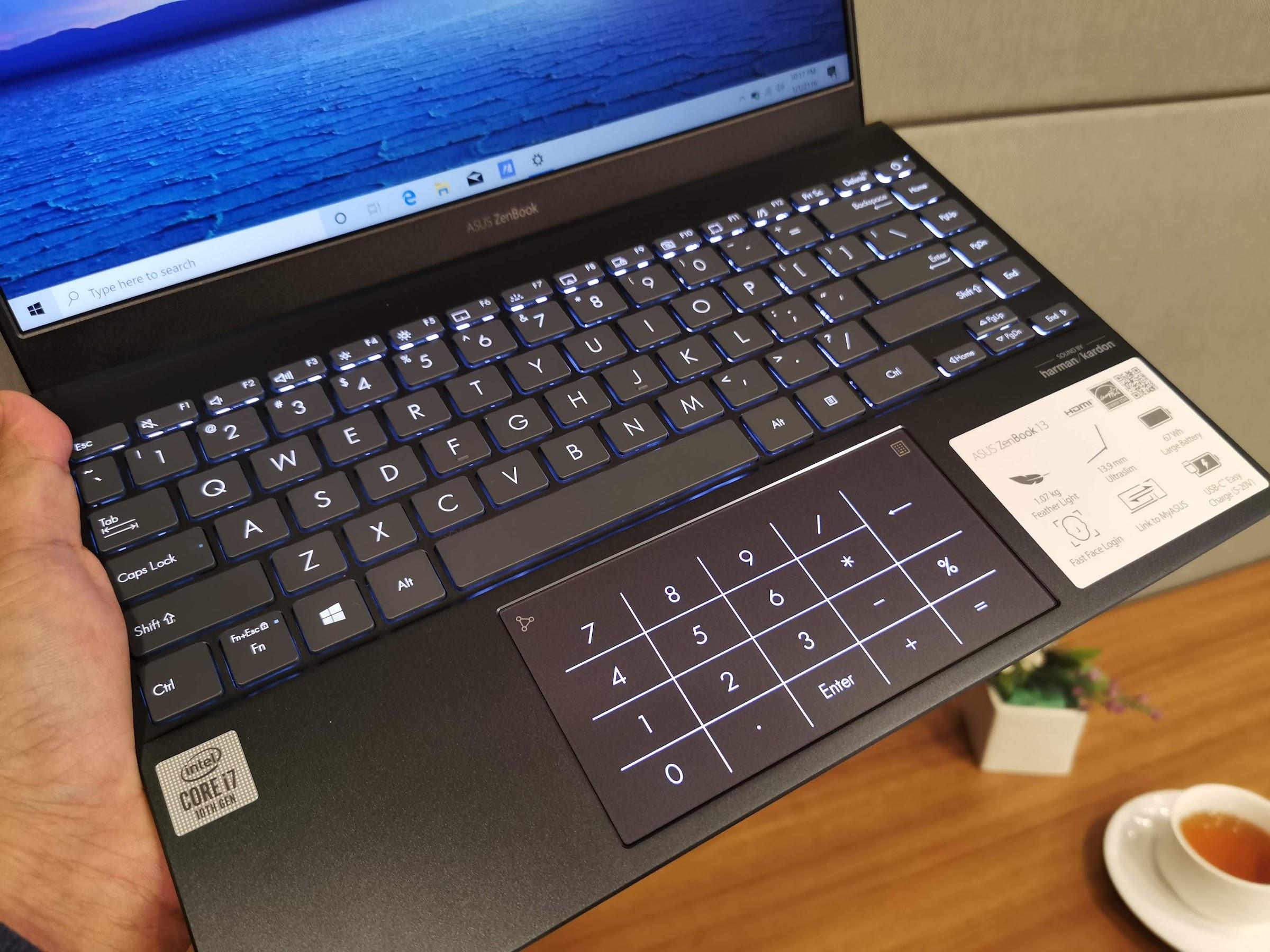 Keyboard ASUS ZenBook 13 (UX325)