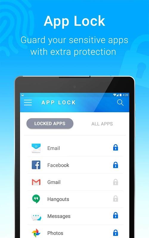 Applock - Fingerprint Pro screenshots