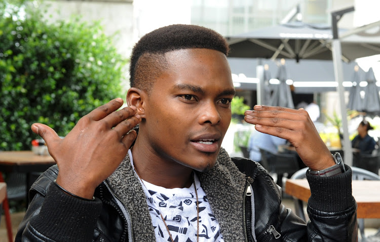 Dumi Masilela during an interview on February, 05, 2014. File photo.