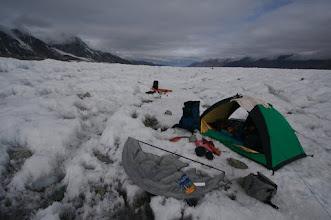 Photo: Logan Glacier. Day 29. 7th of June.
